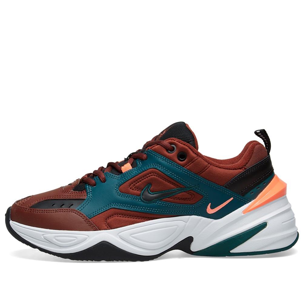 fd531d7d9568 Nike M2K Tekno Brown, Rainforest & Mango | END.