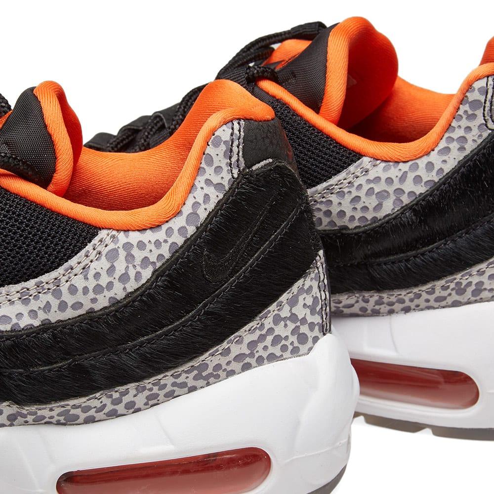 big sale 73a03 f86be Nike Air Max 95 WE - Greatest Hits Pack Black, Granite   Orange   END.