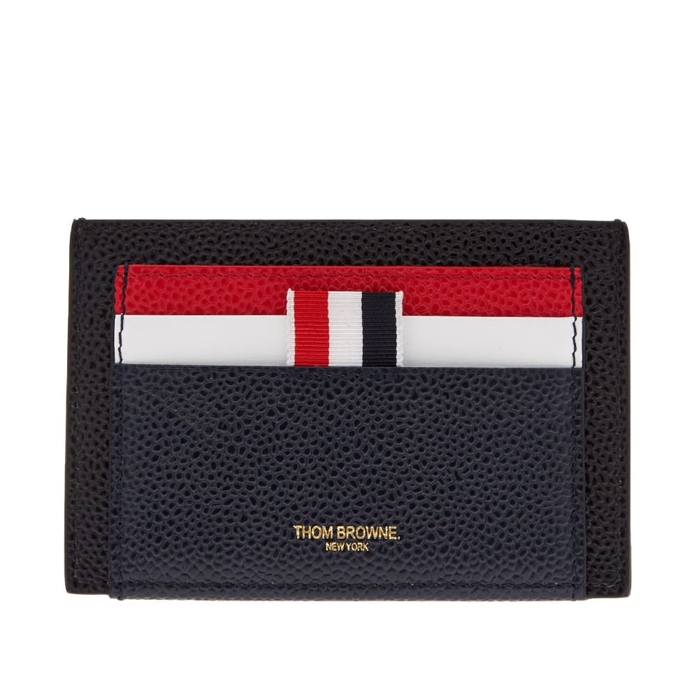 on sale a62d5 42241 Thom Browne Double Sided Card Holder