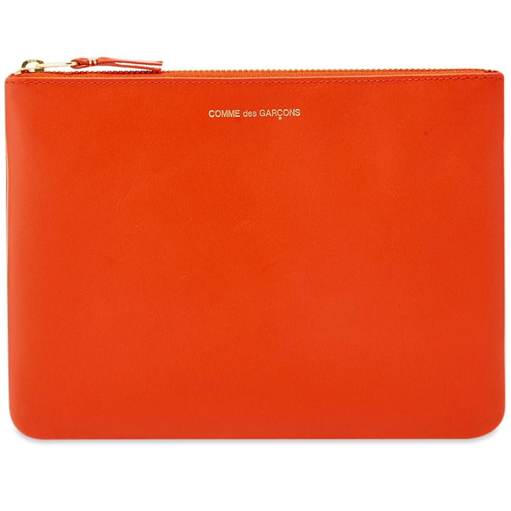 Comme Des GarÇOns Comme Des Garcons Sa5100 Classic Wallet In Orange