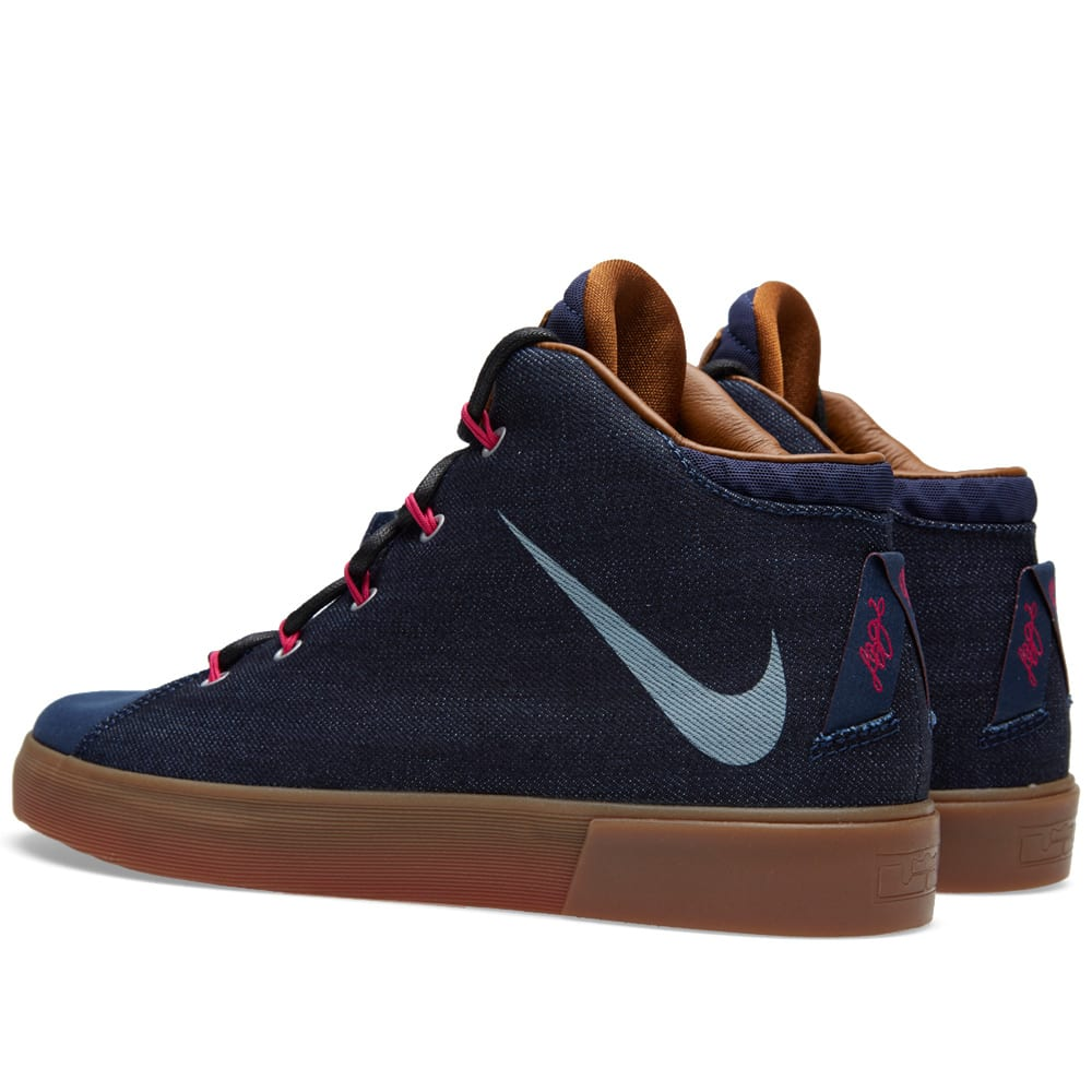 b7c8de5a632 Nike LeBron XII NSW Denim LS QS Midnight Navy
