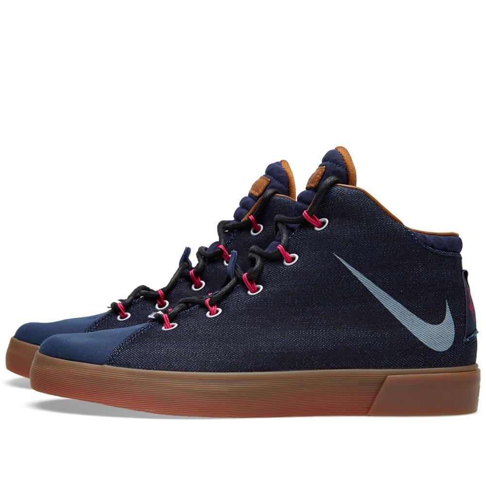 brand new 5f30a 6d58b Nike LeBron XII NSW Denim LS QS Midnight Navy | END.