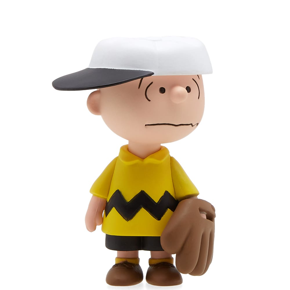 be6fb8f27d Medicom X Peanuts Udf Series 6  Baseball Charlie Brown In Multi ...