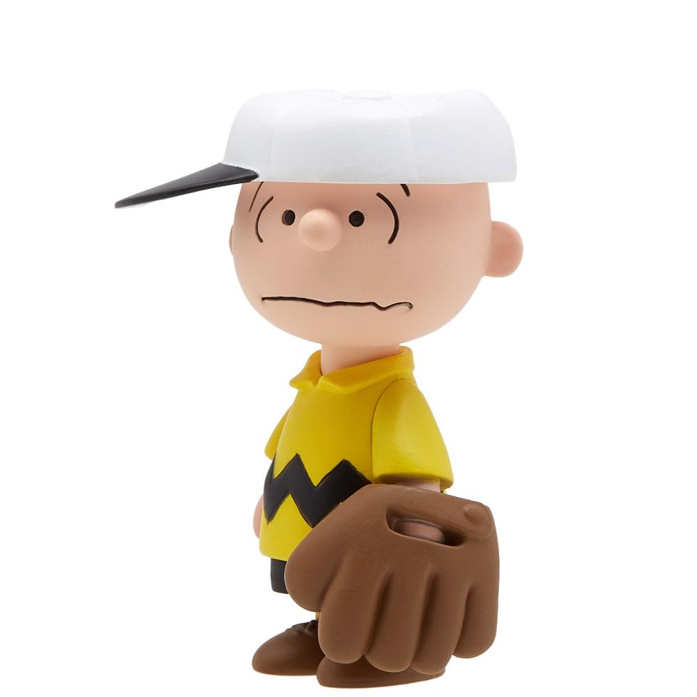 1de9ed4b3e8434 Medicom x Peanuts UDF Series 6  Baseball Charlie Brown Multi