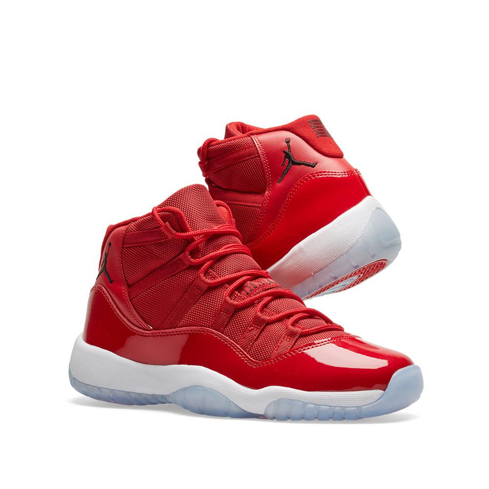 newest 1cf45 3662d Nike Air Jordan 11 Retro BG 'Win Like 96'