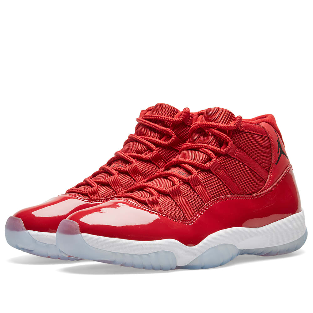 official photos 654cb 88705 Nike Air Jordan 11 Retro  Win Like 96  Gym Red, Black   White   END.