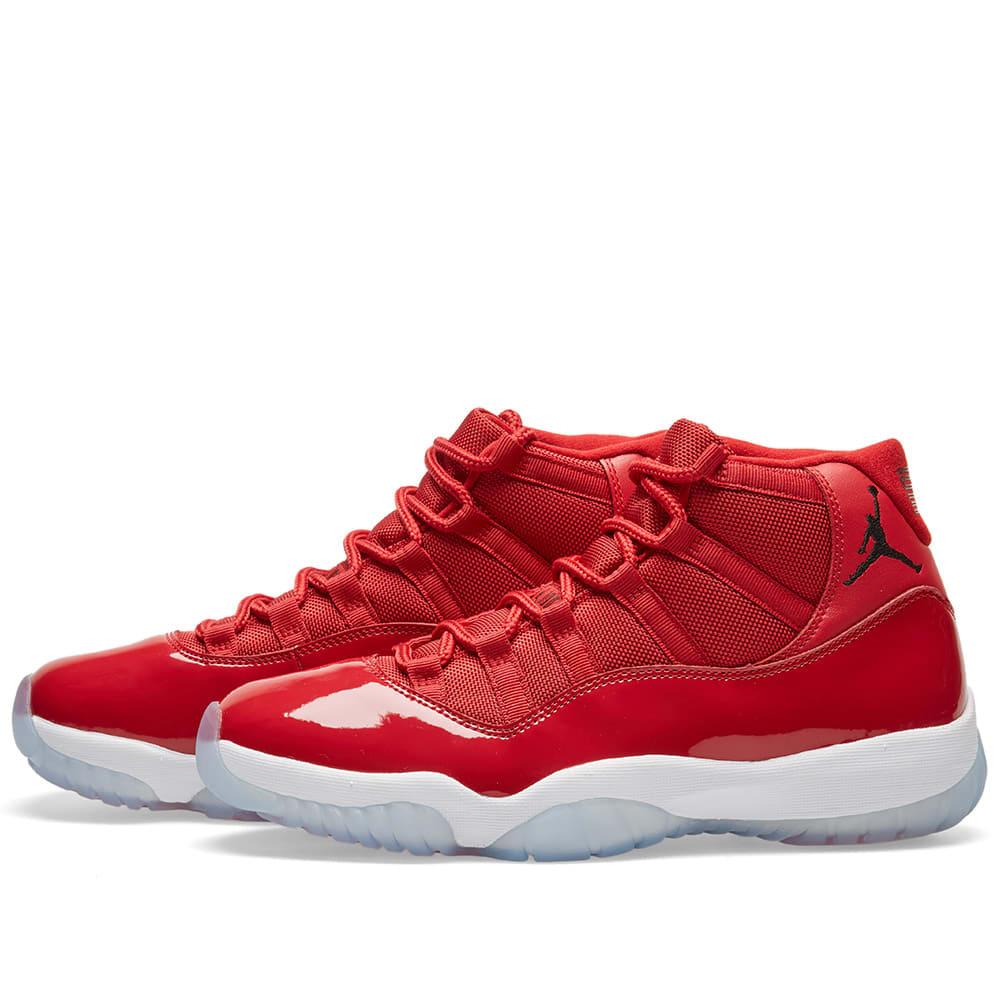 aebb3ee9329 Nike Air Jordan 11 Retro  Win Like 96  Gym Red