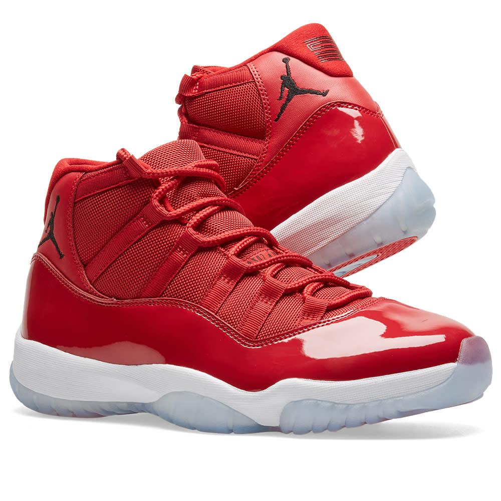 detailed look b76c6 f32d4 Nike Air Jordan 11 Retro 'Win Like 96'