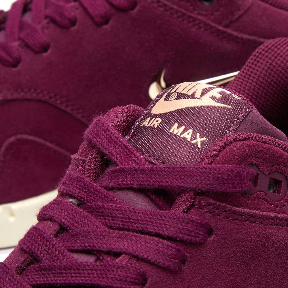 competitive price 2a58a 5eafc Nike Air Max 1 Premium SC W Bordeaux, Blur   Bio Beige   END.