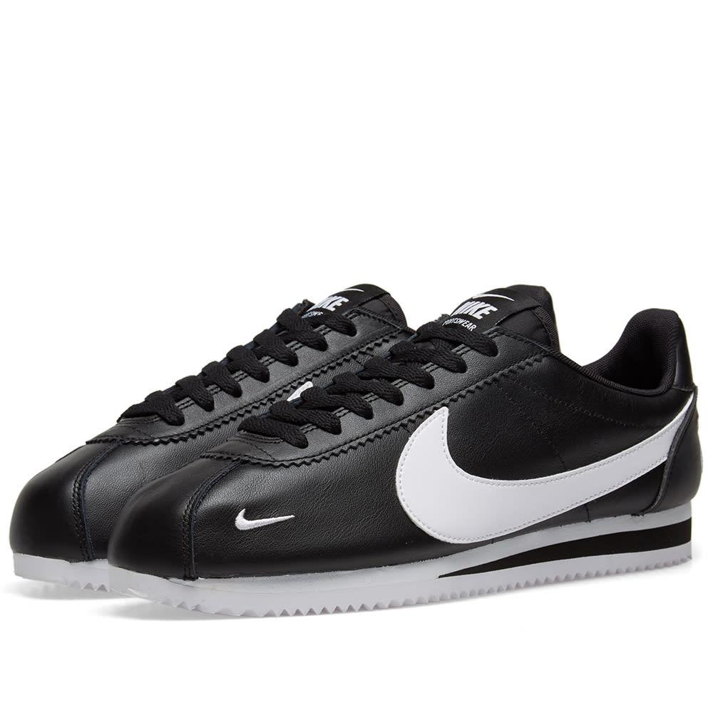 sports shoes 0ebef bcd79 Nike Classic Cortez Premium Black   White   END.