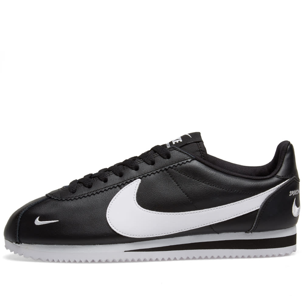 sports shoes ee998 68a3d Nike Classic Cortez Premium Black   White   END.