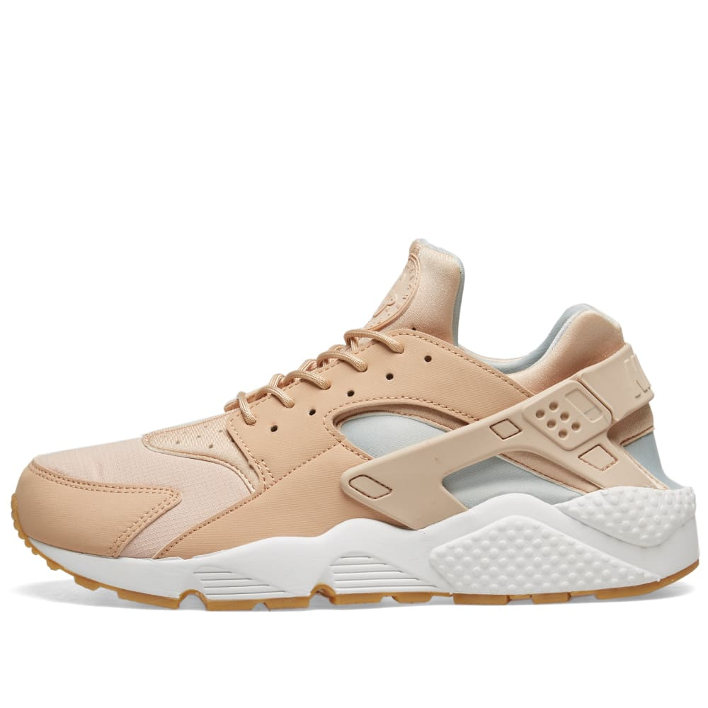 Nike Air Huarache Run W Beige, White & Medium Brown | END.