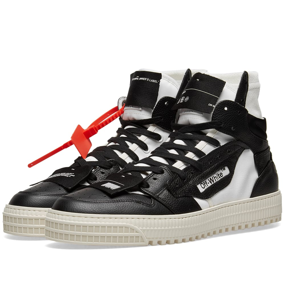0d53395cd7058a Off-White Off-Court Sneaker Black   White