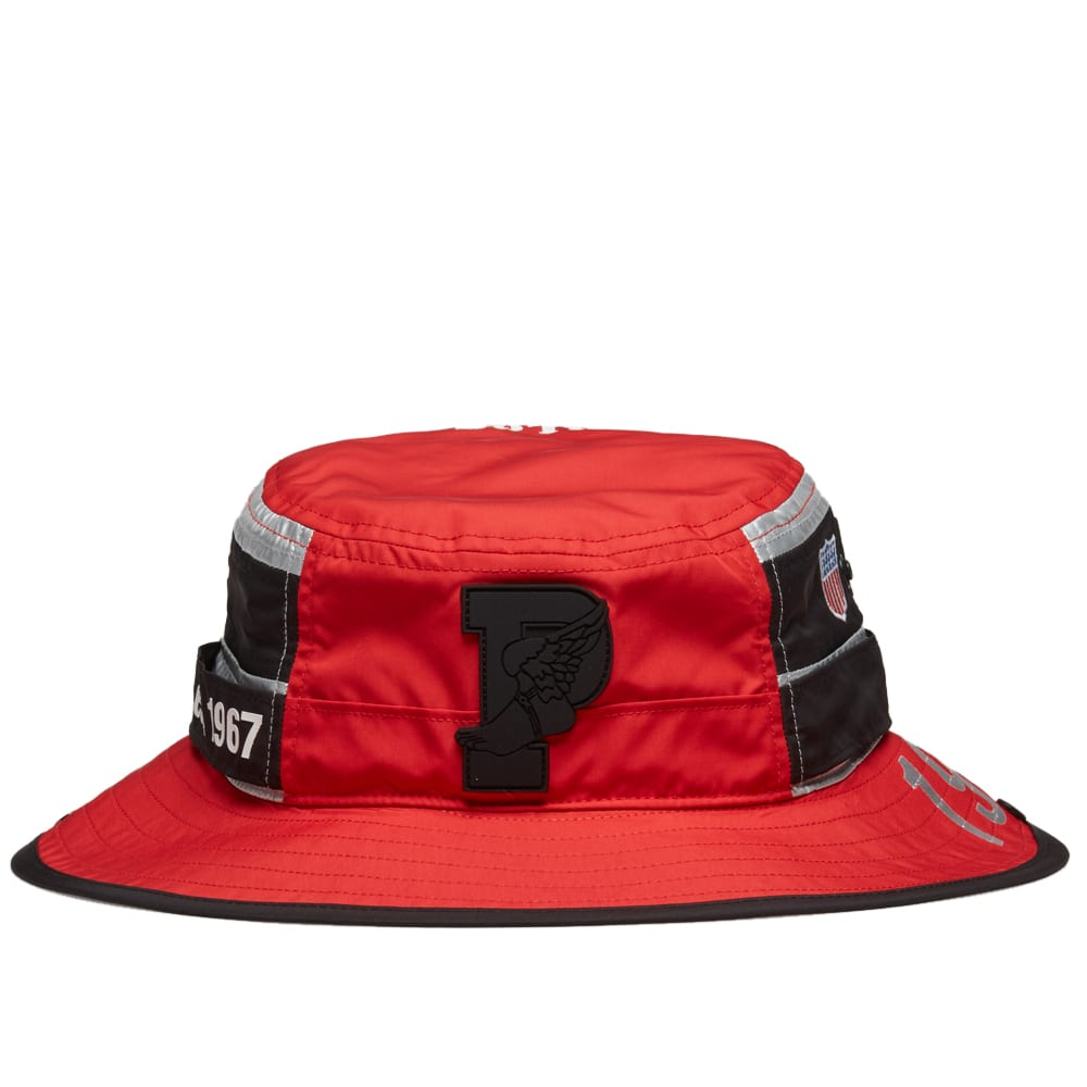 c532a8724794d Polo Ralph Lauren Boonie Hat Injection Red   Silver