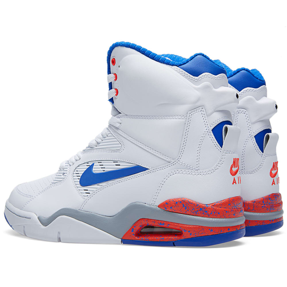 nike air command force 39 ultramarine 39 white lyon blue. Black Bedroom Furniture Sets. Home Design Ideas