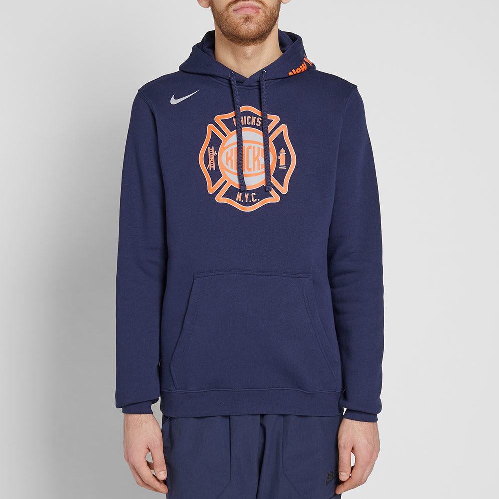 a3a3b8c4f0bd Nike New York Knicks City Edition Hoody College Navy