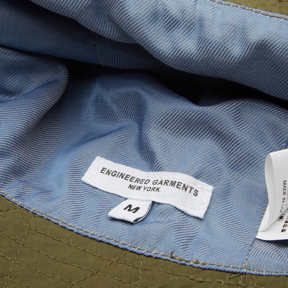 84bfe4b4c51a8 Engineered Garments Bucket Hat Olive Nyco Poplin