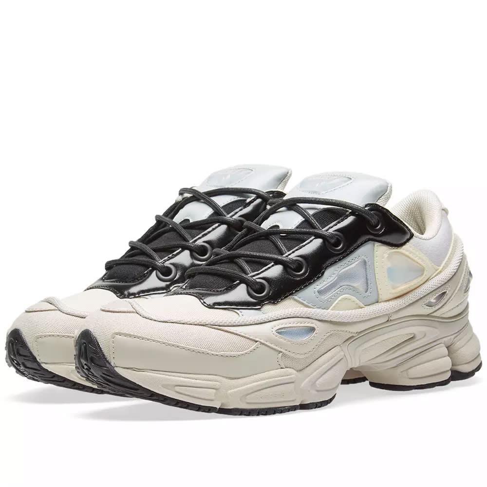 3766e5fcd Adidas x Raf Simons Ozweego III White, Stone & Black | END.