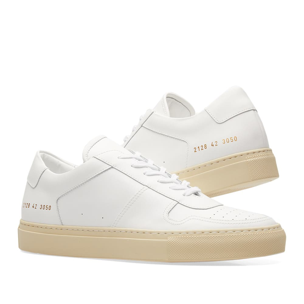 Common Projects B-Ball Low Retro White