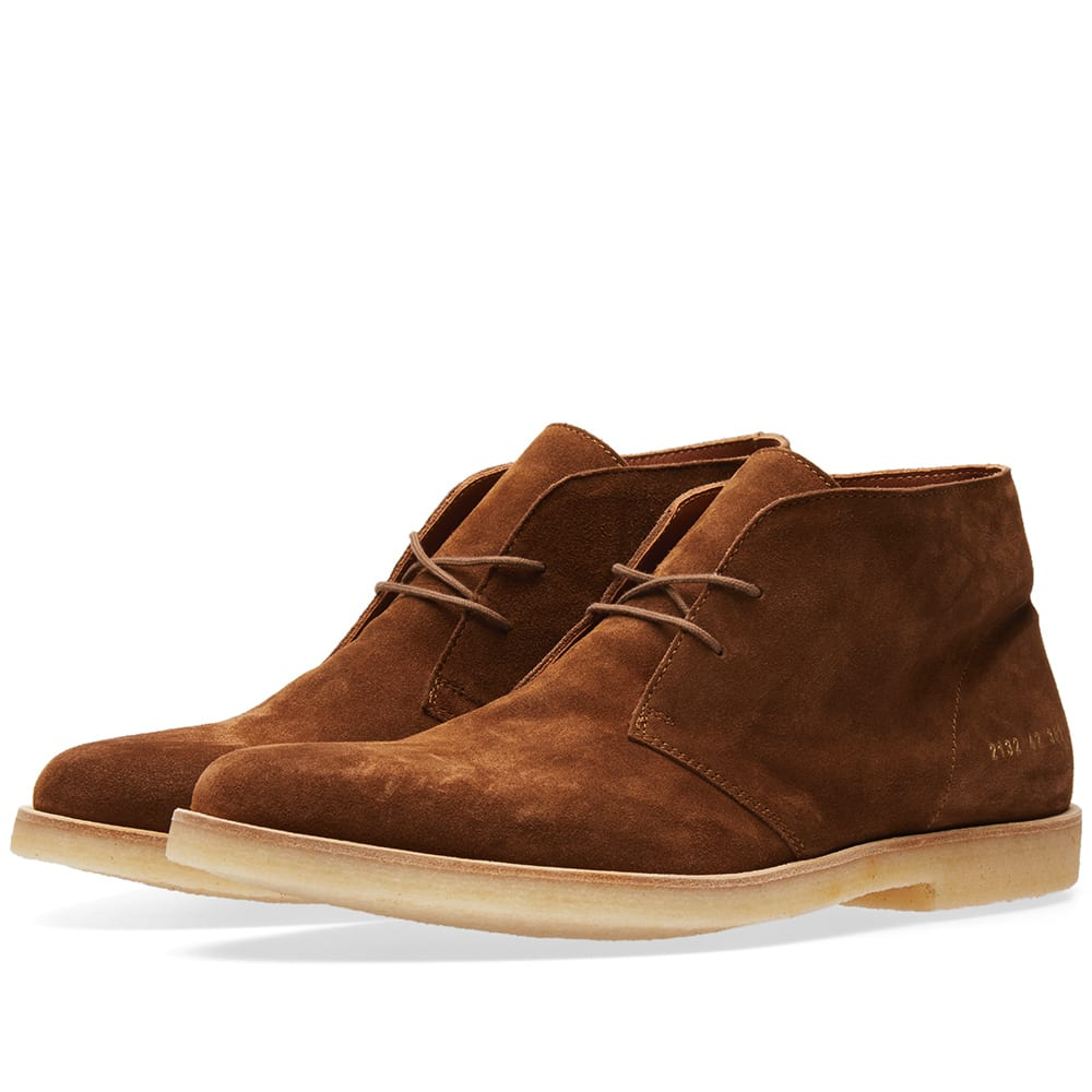 COMMON PROJECTS CHUKKA SUEDE