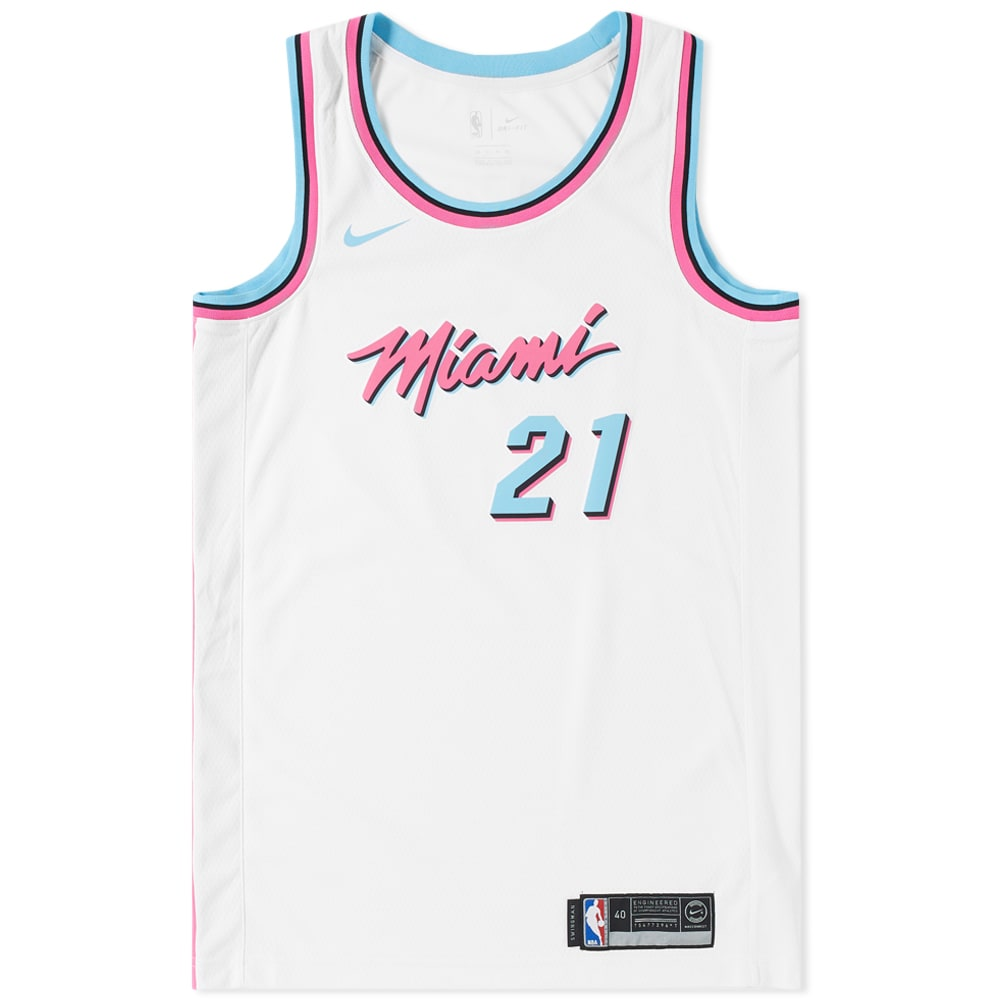 11f2b94e5 Nike Hassan Whiteside City Edition Swingman White