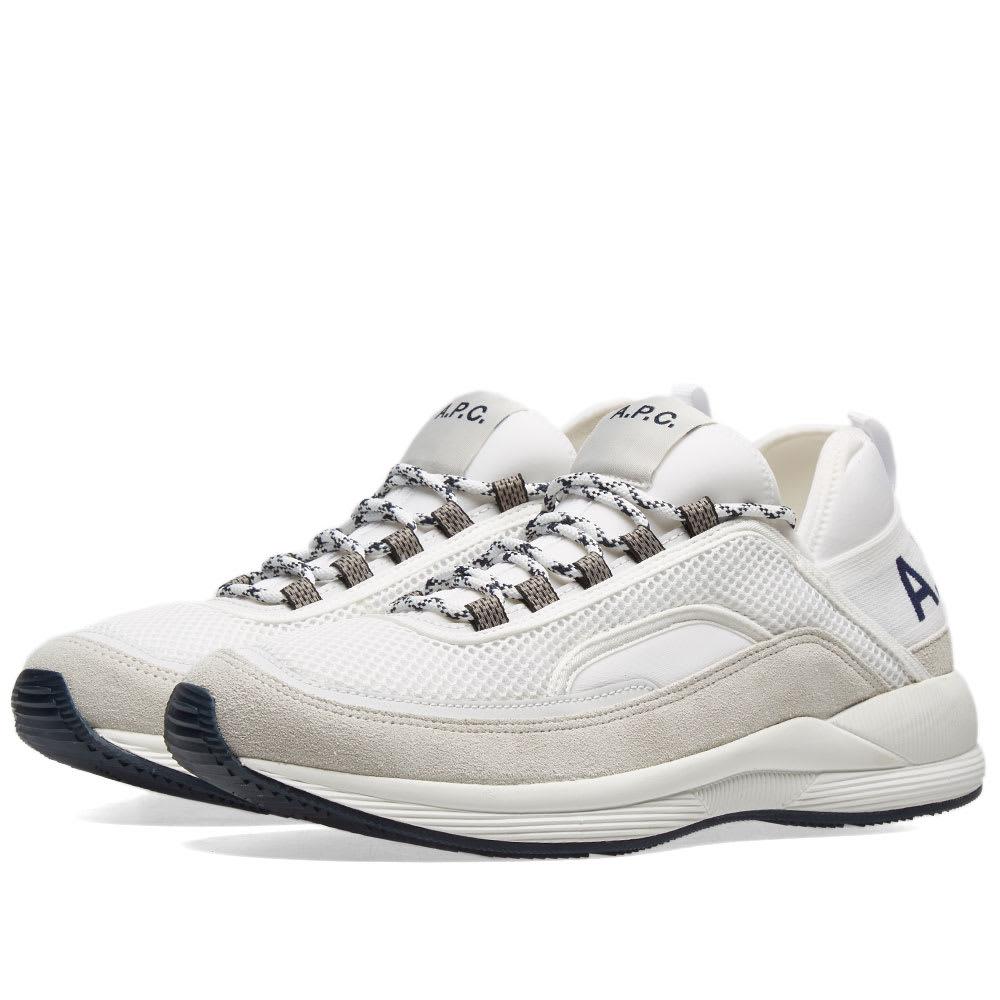 A.P.C. Run Around Sneaker White | END.