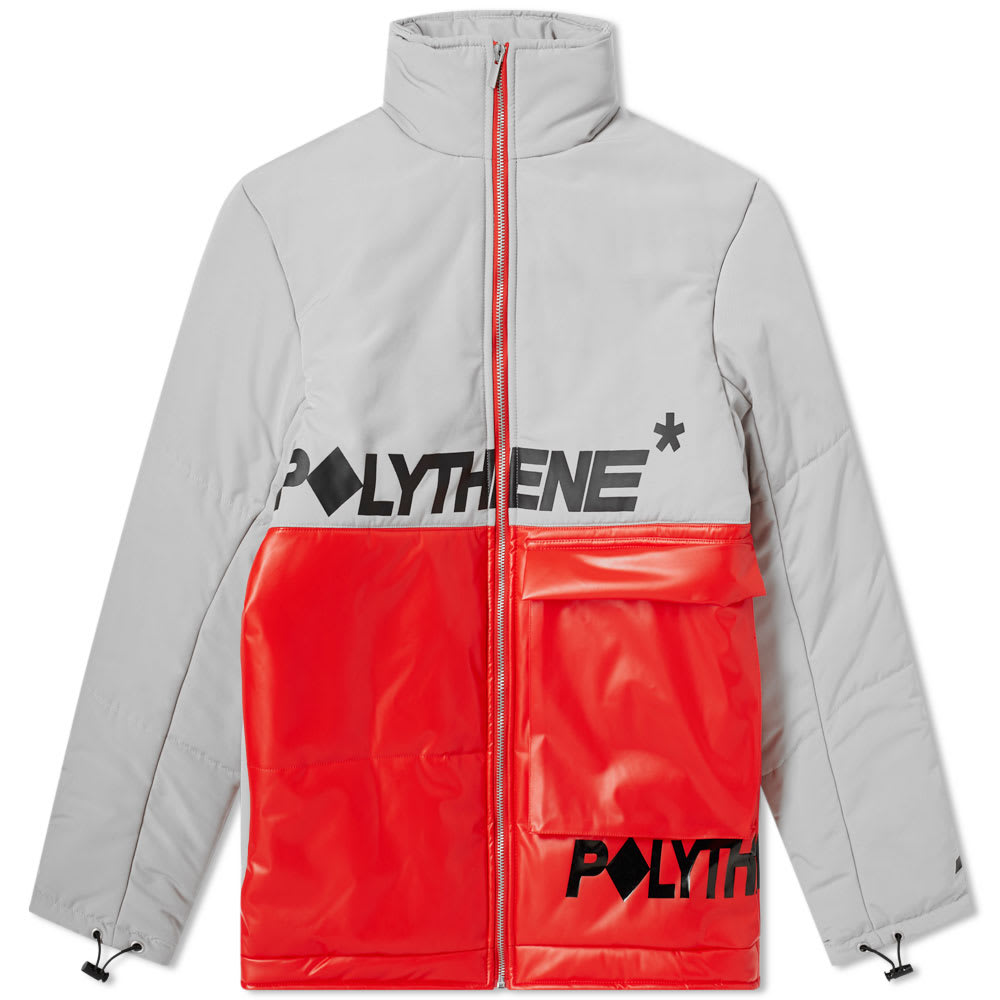 Polythene Optics Short Down Jacket