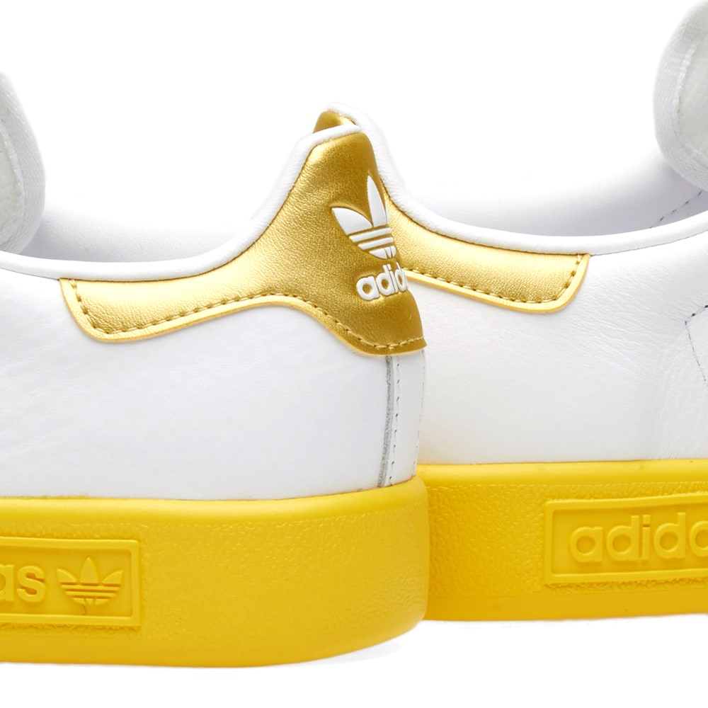 more photos c8c33 b718d Adidas Forest Hills White, Gold   Yellow   END.