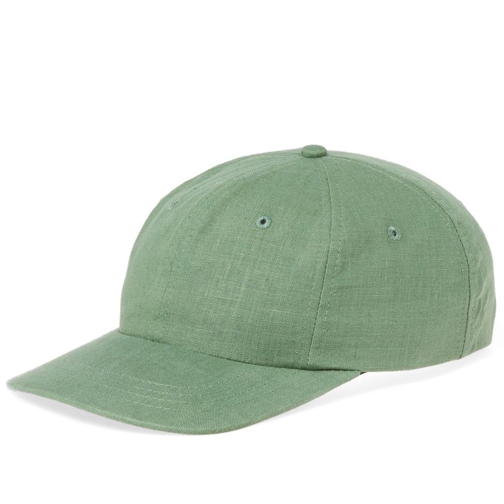MAPLE Maple Linen Mesa Cap in Green