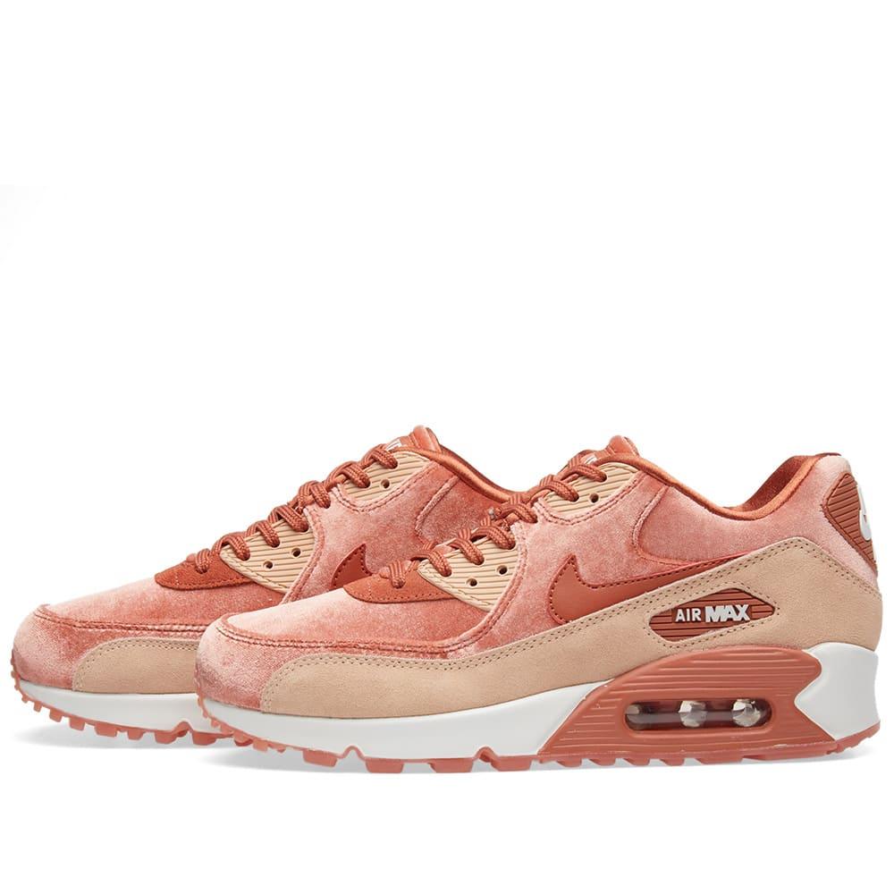 426204b9bd Nike Air Max 90 LX W. Dusty Peach, Bio Beige ...