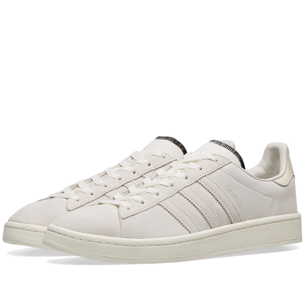 Adidas Campus Raw White \u0026 Off-White | END.