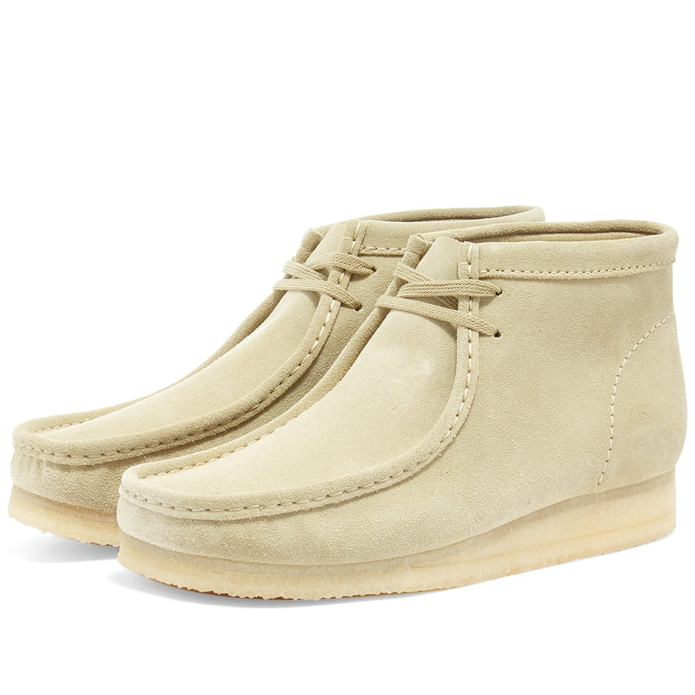 Clarks Originals Wallabee Boot Maple