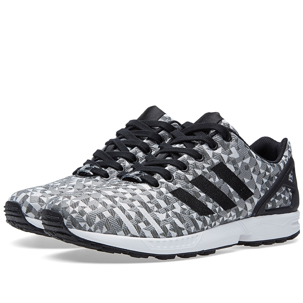 the best attitude a3ecd 584bb Adidas ZX Flux Weave. White, Black   Solid Grey