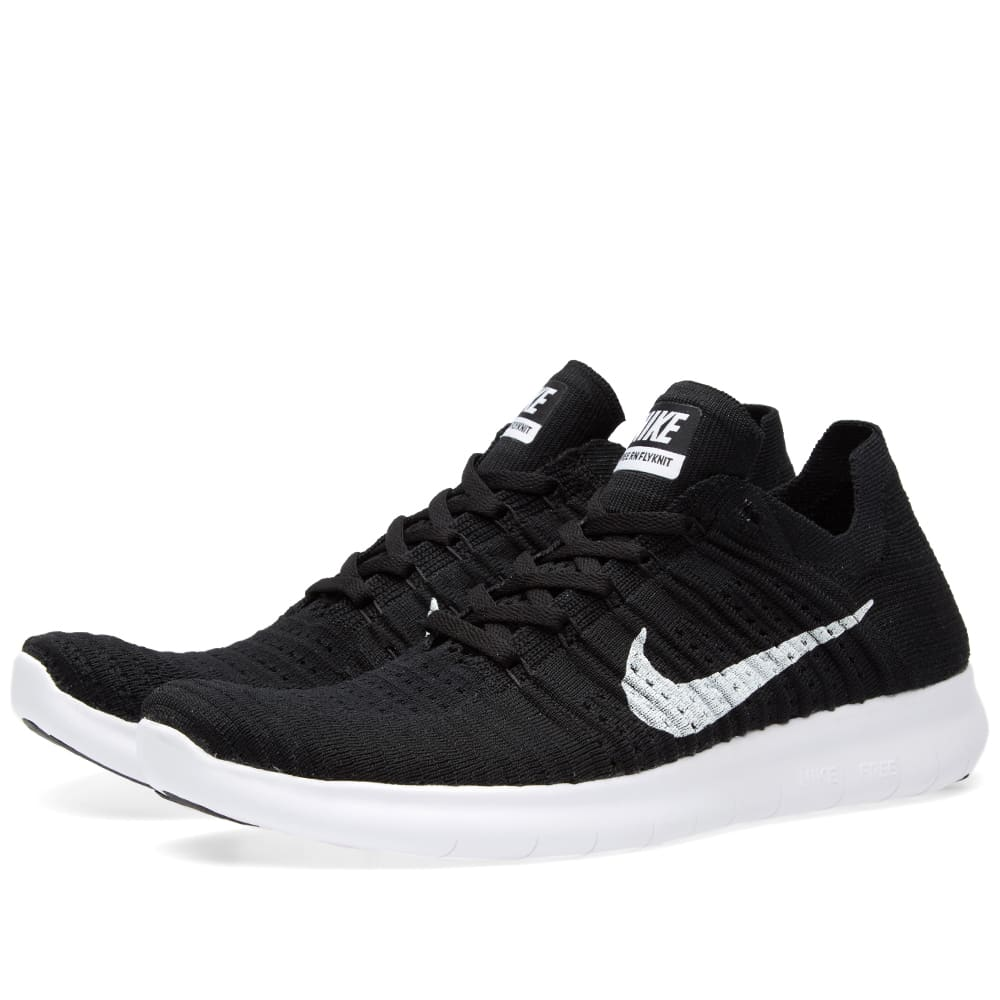 nike free run flyknit black. Black Bedroom Furniture Sets. Home Design Ideas