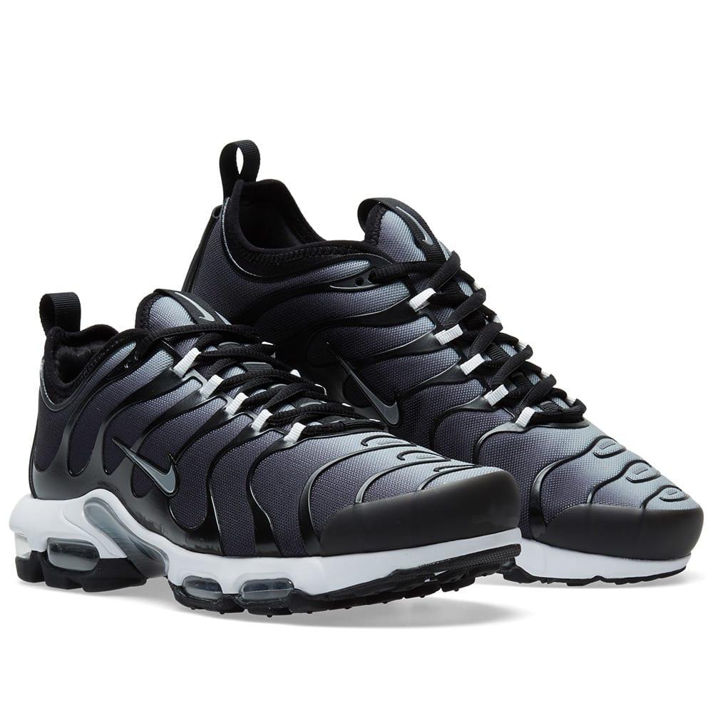 Nike Air Max Plus TN Ultra Men'sWomen's Running Shoes BlackGold #SIM006156