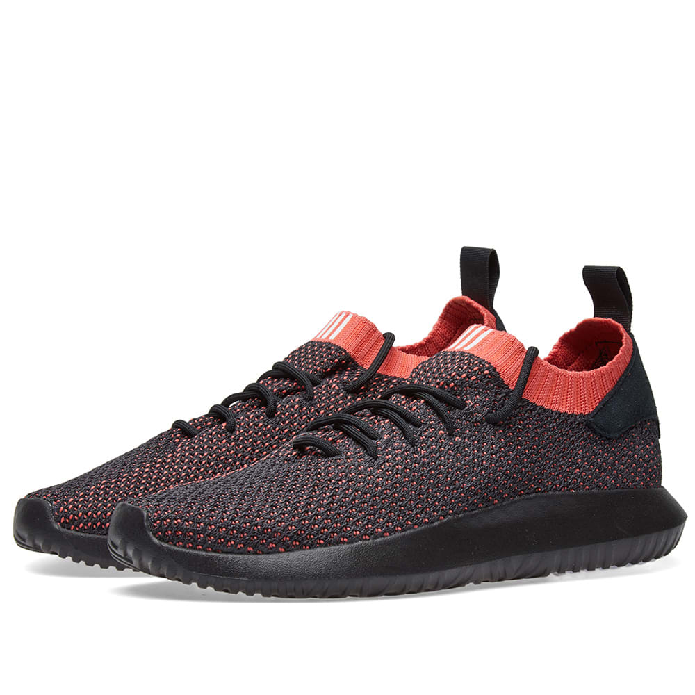 sale retailer b41bc 81de7 Adidas Tubular Shadow PK Black   Scarlet   END.
