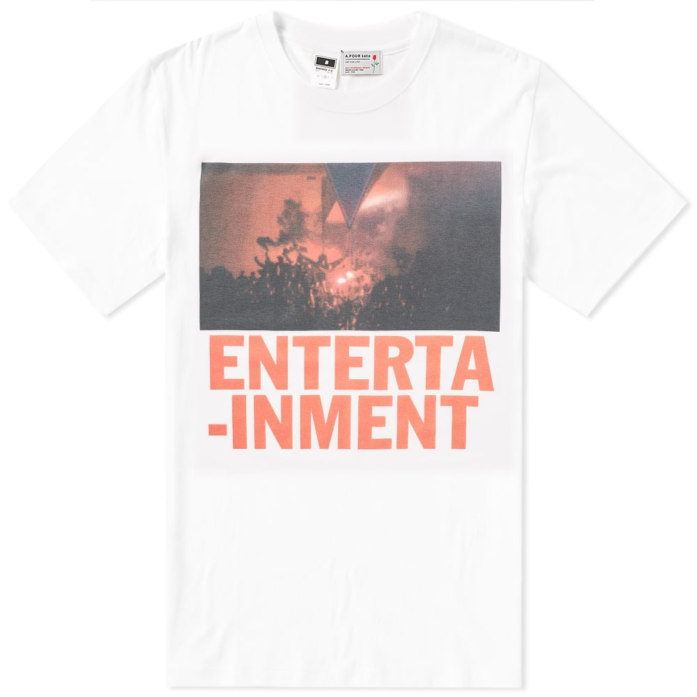 A.FOUR LABS A FOUR LABS ENTERTAINMENT 02 TEE