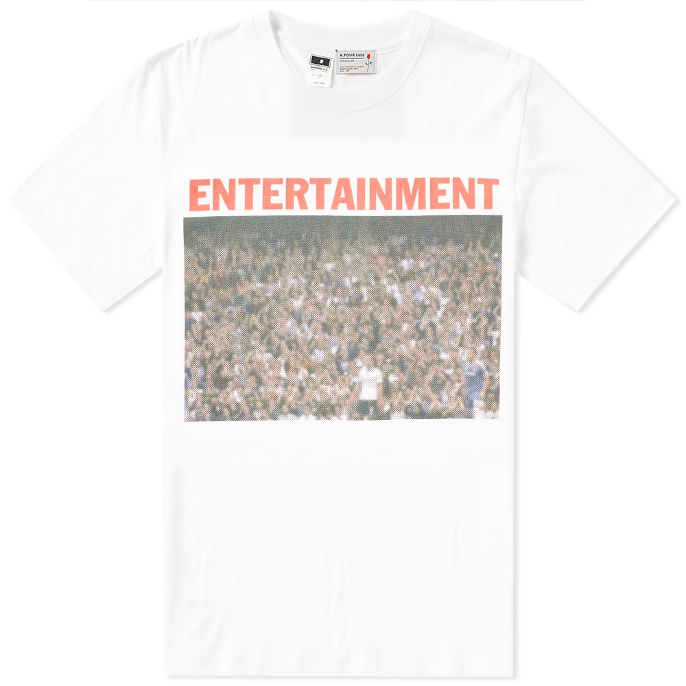 A.FOUR LABS A FOUR LABS ENTERTAINMENT 03 TEE