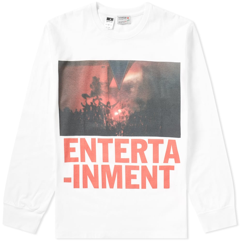 A.FOUR LABS A FOUR LABS LONG SLEEVE ENTERTAINMENT 02 TEE