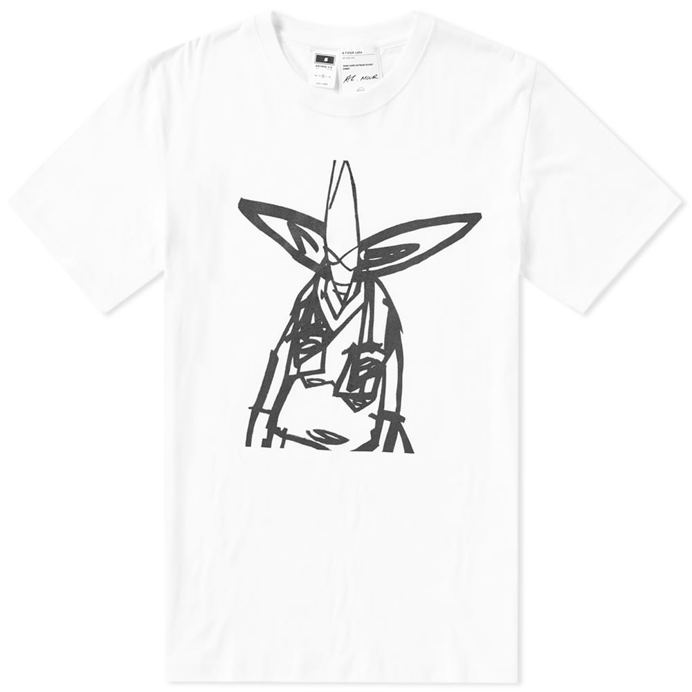 A.FOUR LABS A FOUR LABS POINT MAN UNKLE TEE