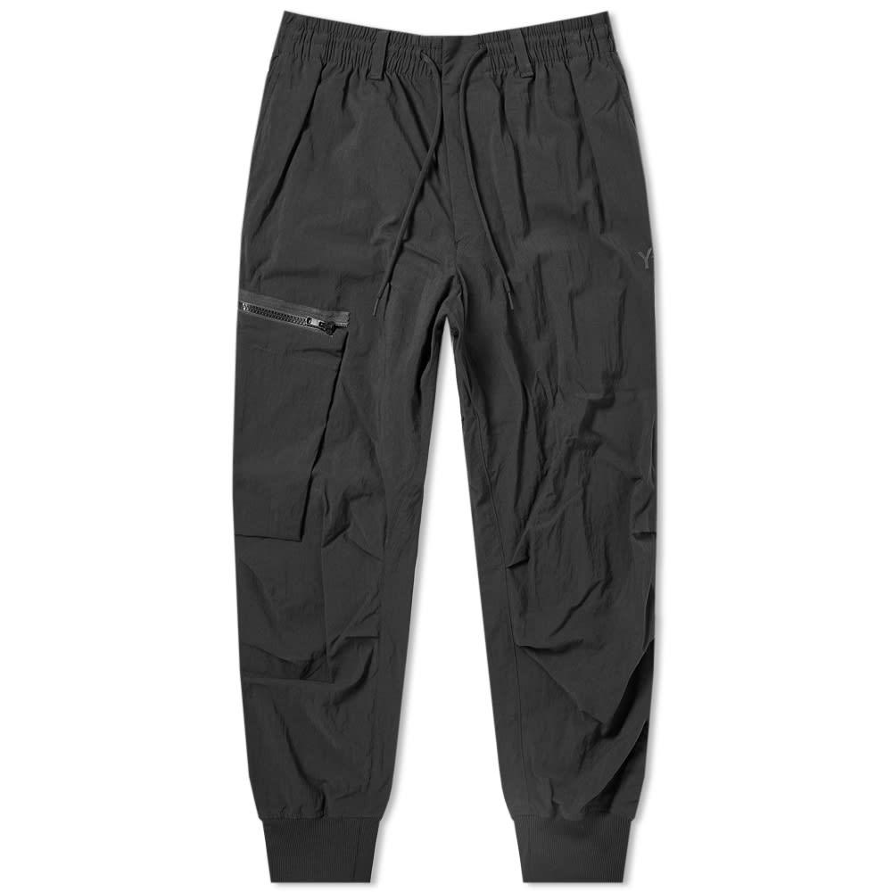 9eb5daf95ecf2 Y-3 Nylon Twill Cargo Pant Black