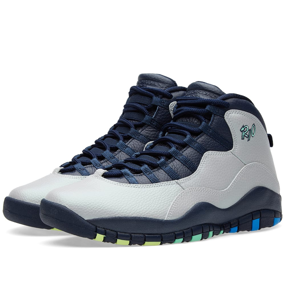 The Wave Nanaimo >> Nike Air Jordan 10 Retro Wolf Grey & Photo Blue | END.