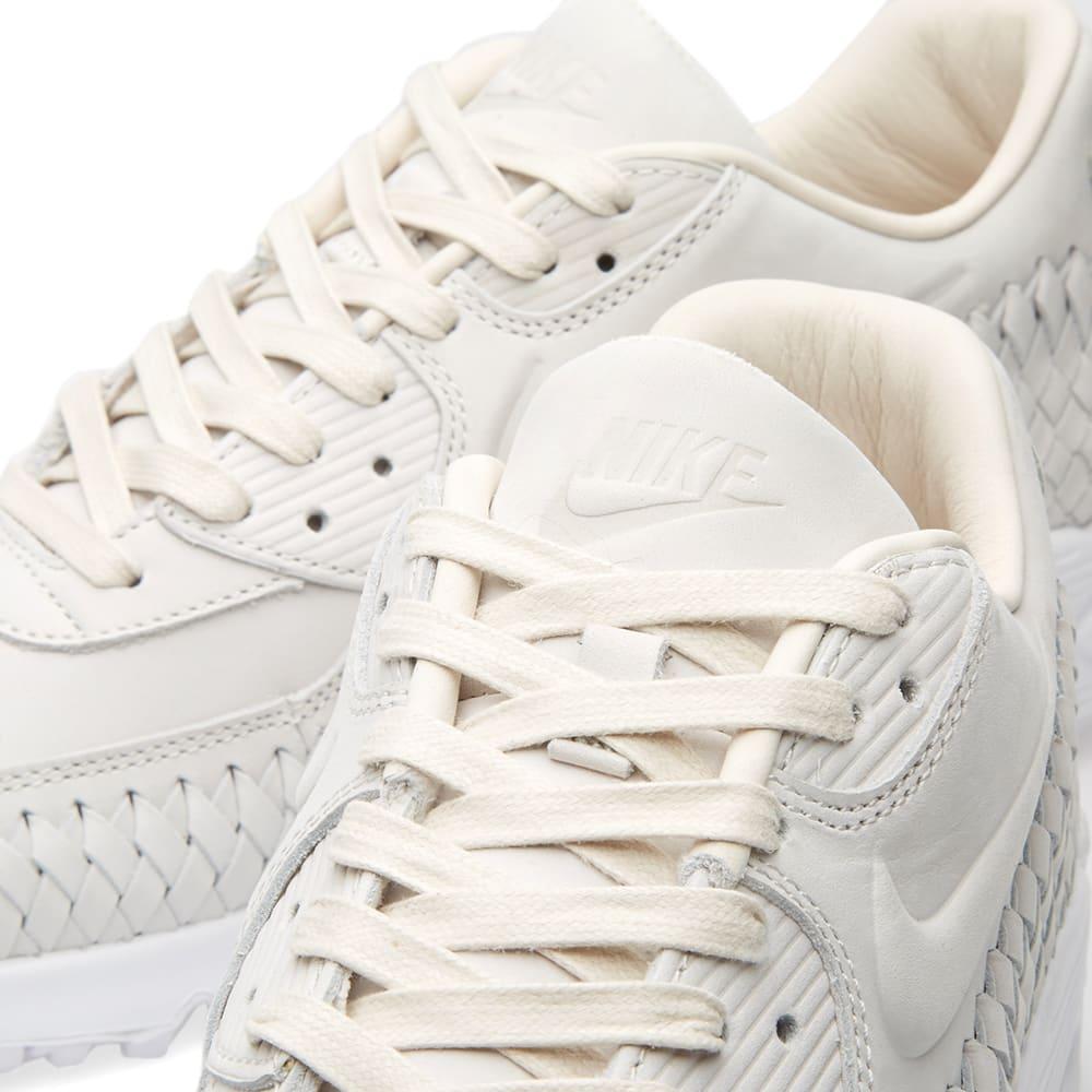 best loved bc0fd 1d93f Nike Air Max 90 Woven Phantom   White   END.