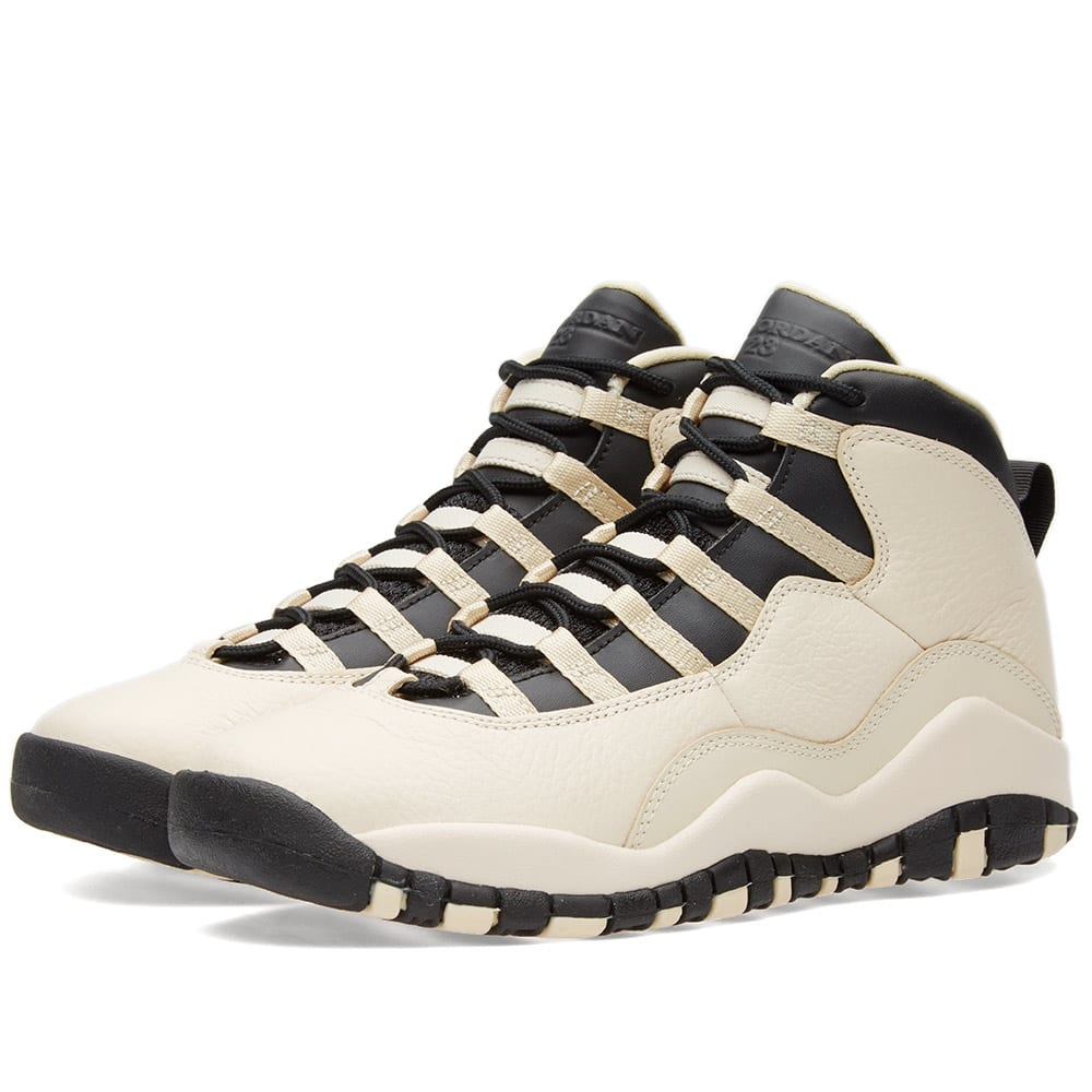 24a735add00b9b Nike Air Jordan 10 Retro Premium GG Pearl White   Black