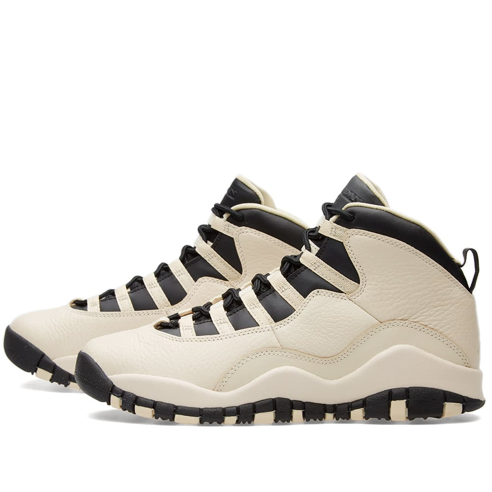 best service 98824 08a22 Nike Air Jordan 10 Retro Premium GG Pearl White   Black   END.