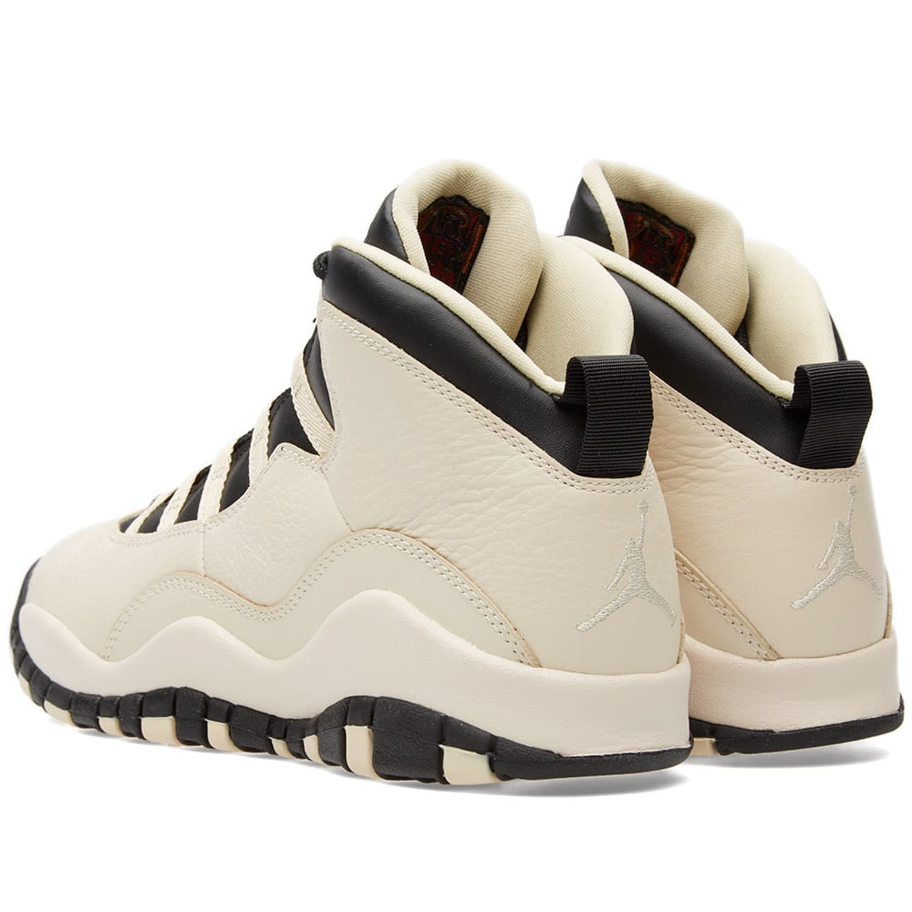 best service 1f4ac 1f86b Nike Air Jordan 10 Retro Premium GG Pearl White   Black   END.