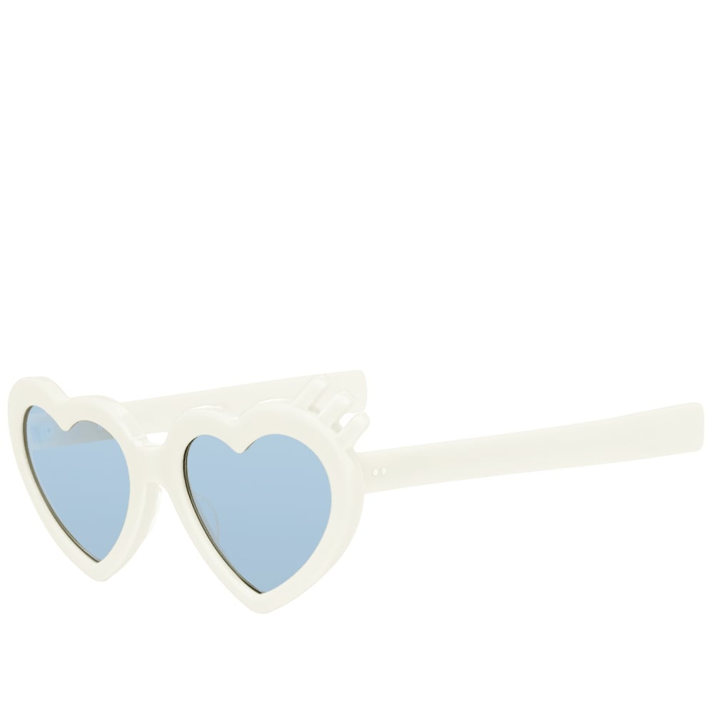 5afa6ebf795 Human Made Heart Sunglasses White | END.
