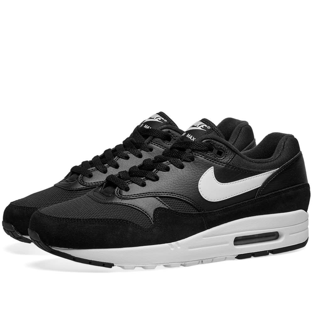 best service 94258 2c01e Nike Air Max 1 Black   White   END.