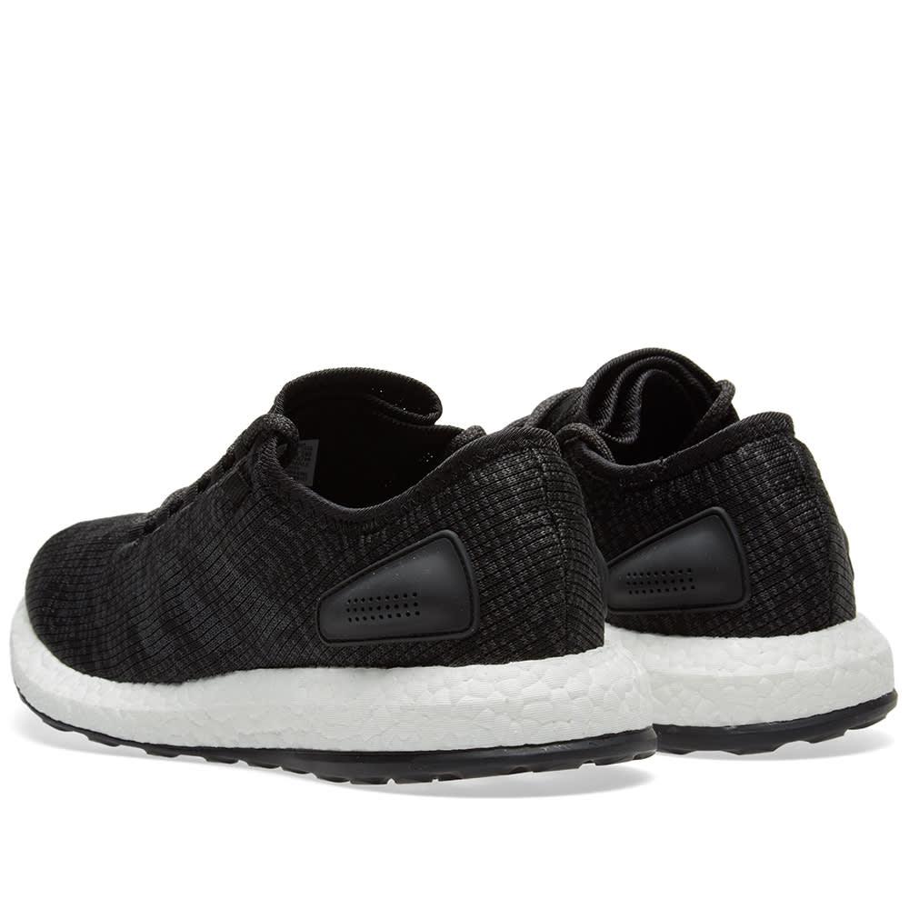 45b1b73f4f9e3 Adidas Pure Boost Core Black   Solid Grey