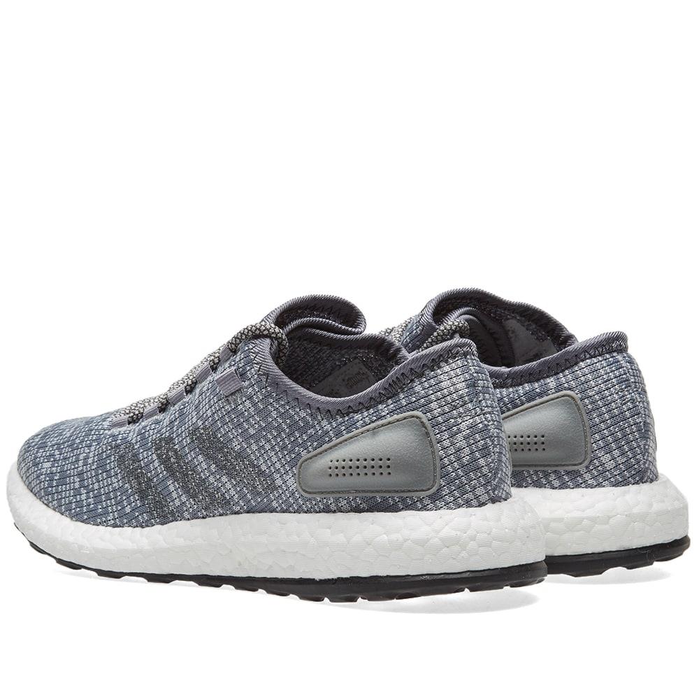 af068ef6506a6 Adidas Pure Boost Solid Grey   Clear Grey